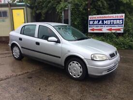 Vauxhall/Opel Astra 1.6i 2003MY Club