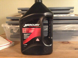 Mercury marine oil