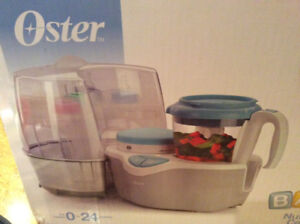 Oster Baby Nutrition Centre -Steamer, Sterilizer, Bottler Warmer