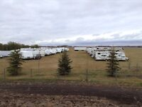 STORAGE - RV, BOATS, TRAILERS