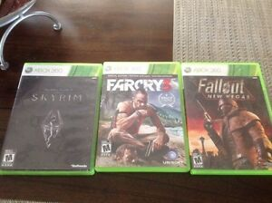 3 xbox 360 games Kitchener / Waterloo Kitchener Area image 1