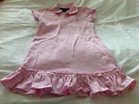 Girls Ralph Lauren pink dress