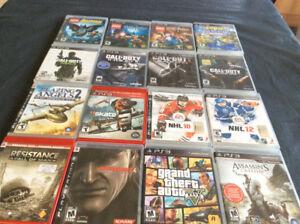 16 jeux de PS3 a vendre