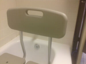 BATH SEAT WITH HAND-HELD SHOWER ATTACHMENT West Island Greater Montréal image 5