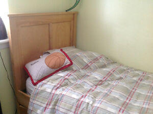 Beautiful College Woodwork Single Bed