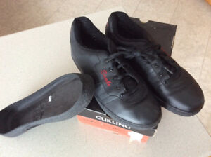 eagle curling shoes size 12, complete with gripper, never used.