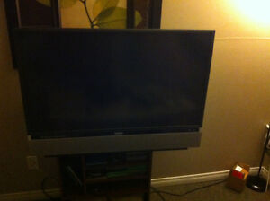 "42"" LED HDTV Flat Screen TV, $100"