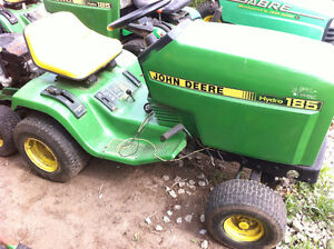 PARTS AVAILABLE FOR JOHN DEERE 185 LAWN TRACTOR