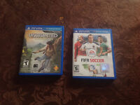 uncharted golden abyss and Fifa soccer 13