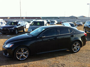 2009 LEXUS IS 250, 5 SPEED MANUAL TRANSMISSION....RARE!