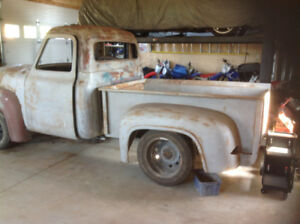 1953 ford f 100 hotrod project truck