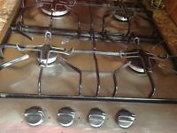 4 burner gas hob