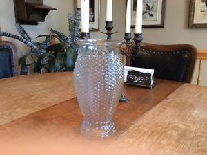 """Vintage 1982 FTD vase a fleur Modele  HEXAGONE  rare  9.5"""""""