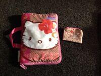 hello kitty secret pillow and purse