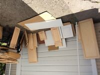 Large selection of cabinet doors