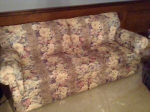 Sofa Bed/Wing Chair