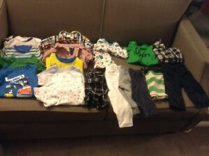 Box of boy's 6-12 months spring/summer clothes Kitchener / Waterloo Kitchener Area image 1