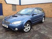 Subaru Outback 2.0DIESEL ESTATE AWD RE 2008, 1 YRS MOT, S/H, RARE CAR