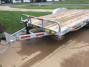 Car/ equipment trailer galvanized