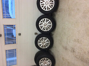 195/65/R15 TIRES ON RIMS **REDUCED**