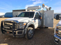 2012 Ford F 550 service vehicle