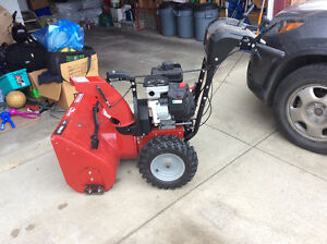 "Awesome 27"" Craftsman Snowblower GET IT BEFORE IT SNOWS! Edmonton Edmonton Area image 1"
