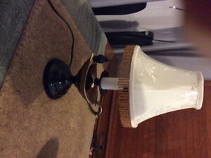 Vintage antique lamp 14 inch high $30.00 firm