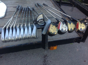 16 GOLF CLUBS - $ 10 each - all for $ 100 Oakville / Halton Region Toronto (GTA) image 1