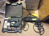 Travis Perkins 110 volt and drill