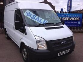2013 FORD TRANSIT MWB MED ROOF SUPERB CONDITION YEARS MOT WOOD LINED