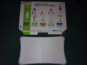 Wii Fit Board and Box