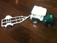 Tonka Jeepster with boat trailer