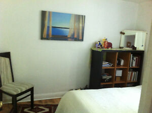cosy room is avilable in furnished apt