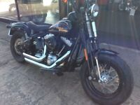 Ride Away Today Stunning Harley Davidson FLSTSB Softail Cross Bones 2009