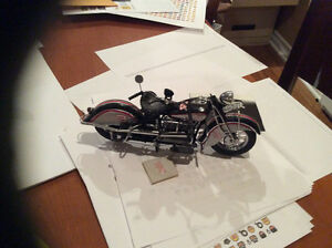 FRANKLIN MINT MOTORCYCLE MOTO DALE EARNHARDT