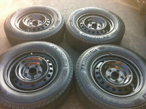235/65/R16,Honda Odyssey Steel Rims With TPMS For Sale