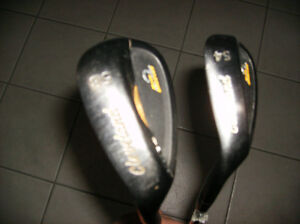 LH Cleveland CG14 Black Pearl 54 & 58 degree wedges
