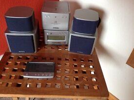 Stereo CD PLAYER & radio Aiwa