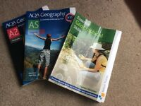 AS, A2 and Geography skills textbooks AQA