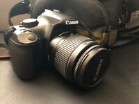 Canon 1100D DSLR Excellent Condition with genuine Canon bag and accessories