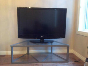 """42"""" LG TV with TV stand"""