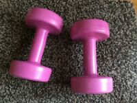 Pair of 1.5kg hand weights