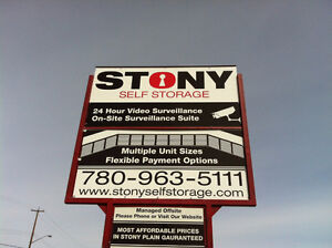 **$119** SPECIAL - 10X15 STORAGE IN STONY PLAIN !