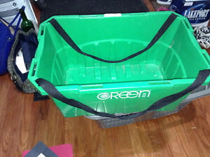 Loblaws Green shopping basket for sale