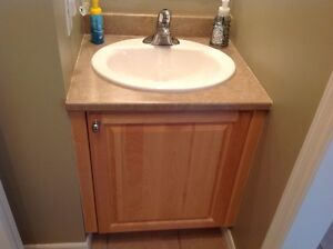 Get a great deal on a cabinet or counter in moncton home for Bathroom cabinets kijiji