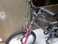 Girls bike full suspension 6 shimano gears