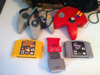 lot jeux nintendo 64 expension pack dK 64 manette memory