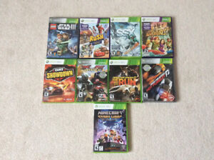 Xbox360 games in great condition