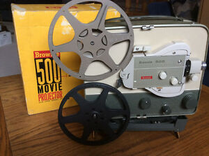 Brownie 8mm Projector