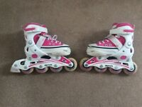 SFR Camden Pink Adjustable Girls Inline Skates